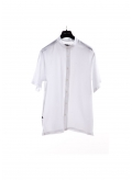Shirt Mao Gauze Short Sleeves
