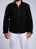 Shirt Collar Long Sleeve 100% Linen (seamed)