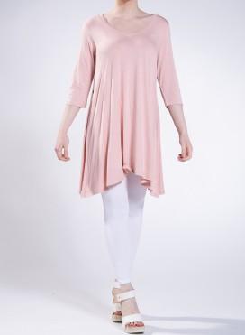 Μπλούζα Asymmetric 3/4 sleeve sized ελαστική