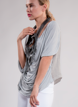 Blouse Reform linen gauze 100% viscose