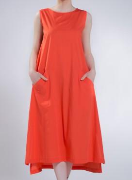Φόρεμα A-Line Χωρίς Μανίκι Evita