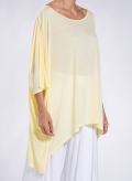 Blouse Tetragoni long 100% viscose
