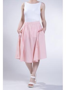Skirt A-line midi evita