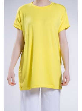 Blouse Gender long shortsleeved elastic