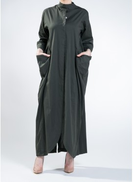 Jacket Oyster Maxi Evita