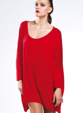 Blouse Tetagoni Long velvet