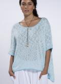 Blouse Tetragoni knitted