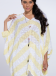 Blouse V Huge knitted stripes