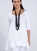 Blouse Aria 3/4 sleeve elastic
