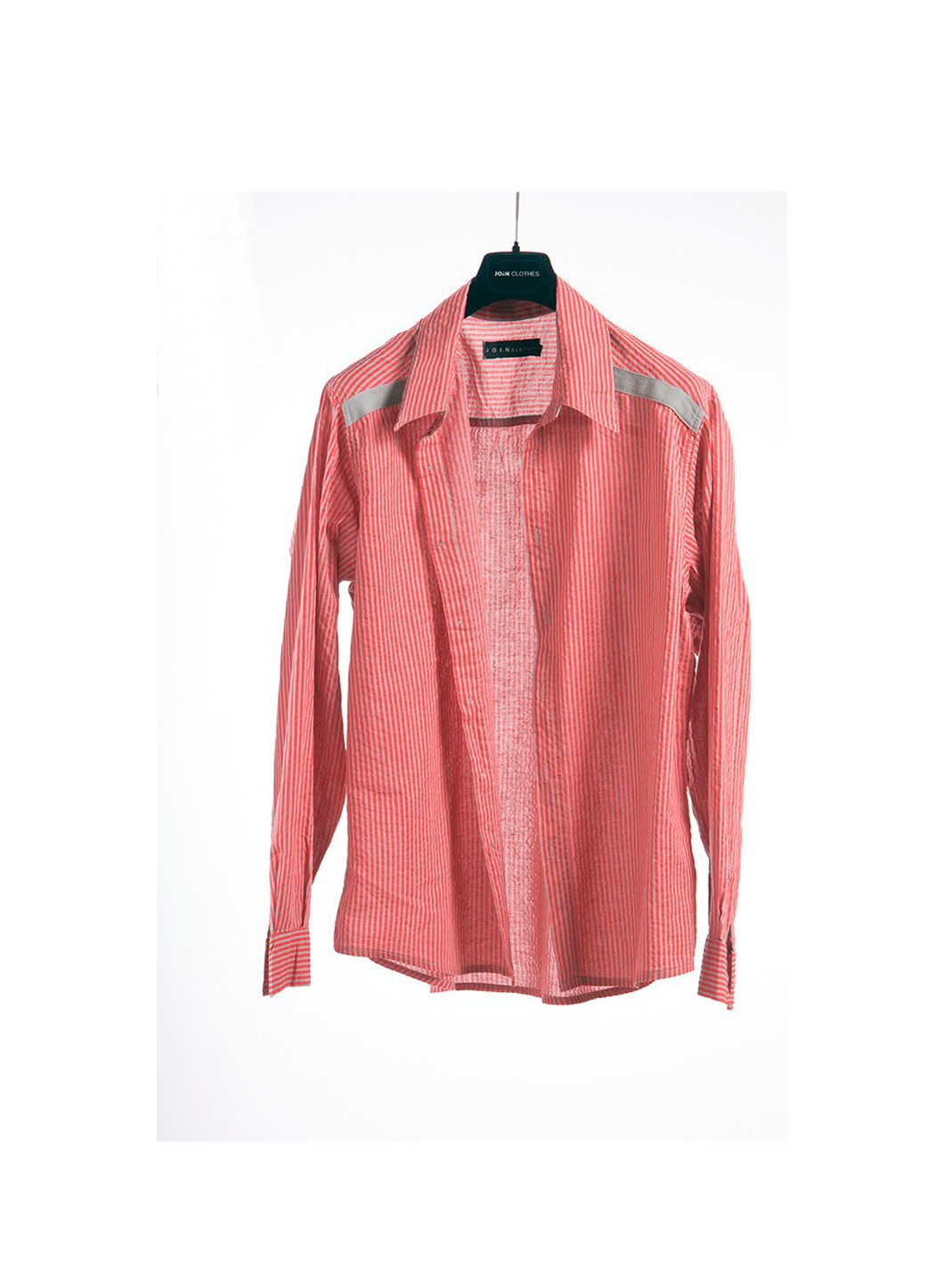 Shirt fakar stripes long sleeves 100 cotton join clothes for Long sleeve 100 cotton shirts