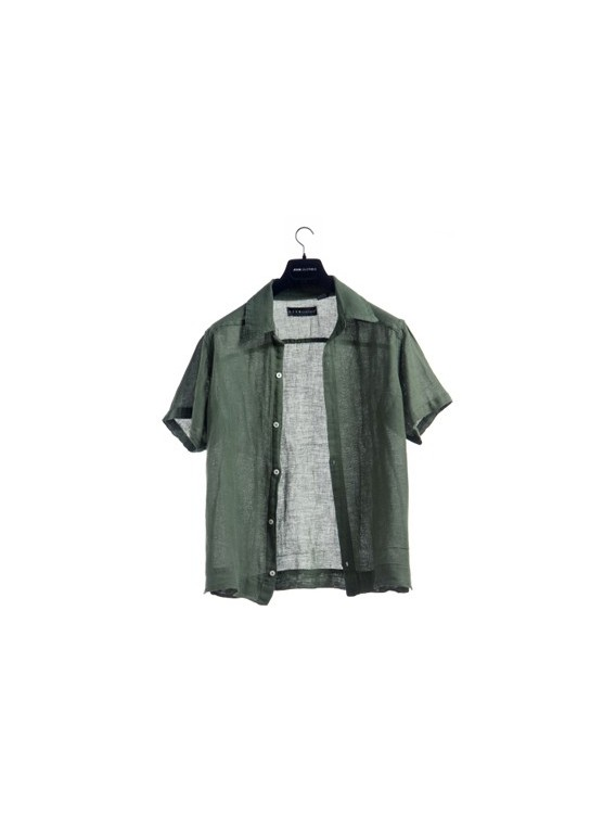 Shirt Men's 57% linen 43% cotton