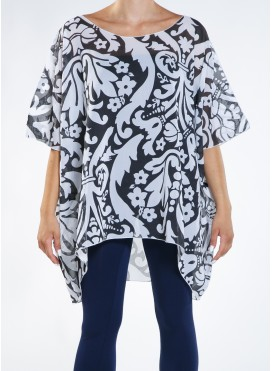 Blouse Big Flower Zorzetta