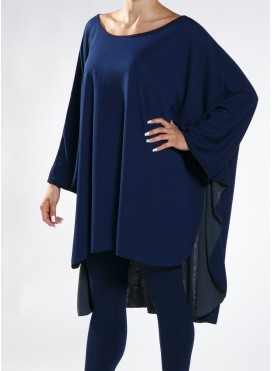 Blouse Cape Double coloured
