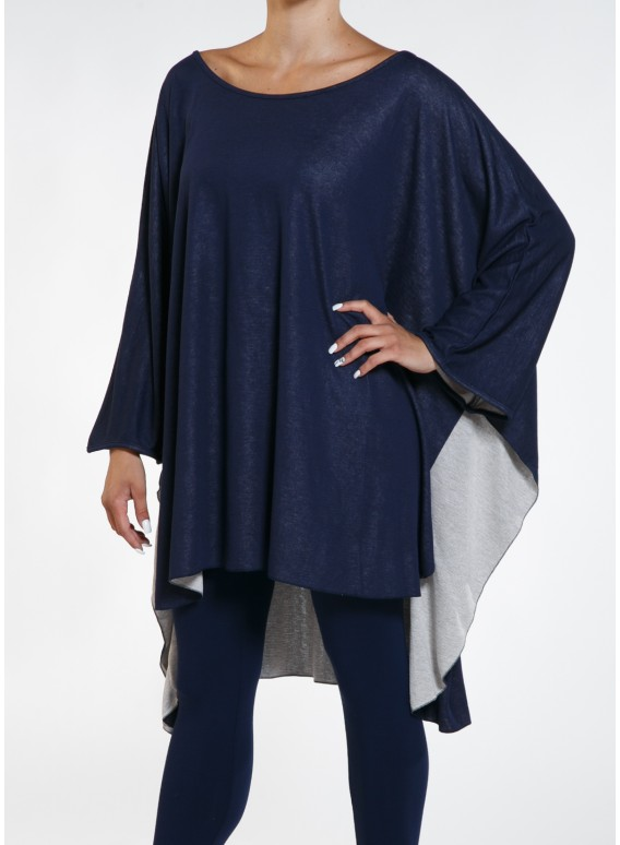 Blouse Cape Double