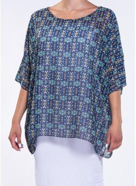Μπλούζα Parfait print 100% polyester
