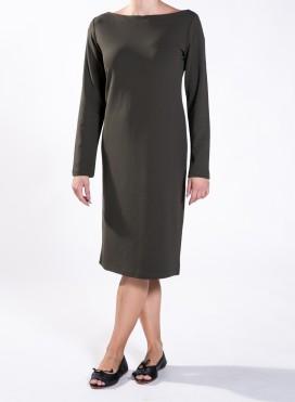 Φόρεμα boatneck μακρύ μανίκι celine