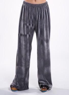 Pants Simple veloute Panda