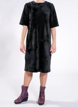 Φόρεμα Round Neck midi Panda