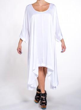Φόρεμα Μύτες μακρύ μανίκι midi Lexis