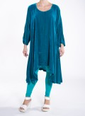 Dress Mytes longsleeves velvet silk