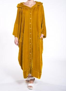 Φόρεμα Σεμιζιέ Τετράγωνο μεταξωτό βελούδο
