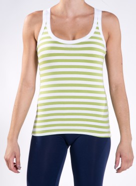 Tank top Stripes elastic