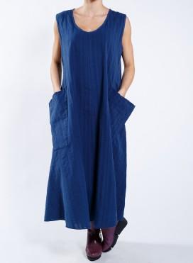 Dress Pockets sleeveless thin/thick 100% cotton