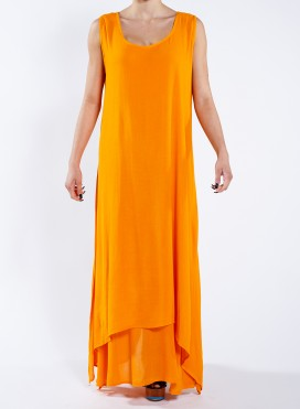 Φόρεμα Φανελάκι διπλό Thai 100% Viscose