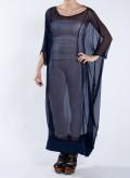 Φόρεμα Τετράγωνο Chiffon