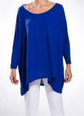 Blouse Tetragoni Long wool/viscose
