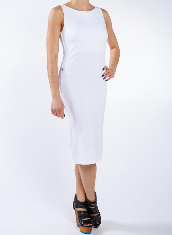 Φορεμα Boatneck χμ midi ελαστικό