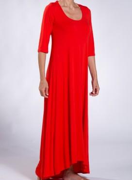 Φόρεμα Athlos 3/4 μανίκι ελαστικό