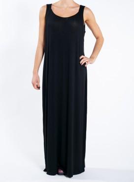 Φόρεμα Φανελάκι πλεχτό ελαστική βισκόζη