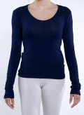 Μπλουζα Απλη μακρύ μανίκι ελαστικό
