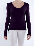 Blouse Simple long sleeves elastic