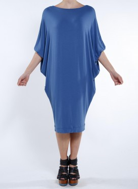 Dress Dolman Sleeve Elastic