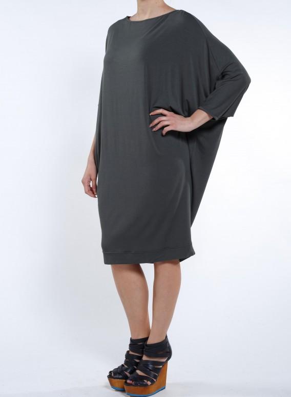 Φόρεμα Dolman Sleeve Ελαστικό