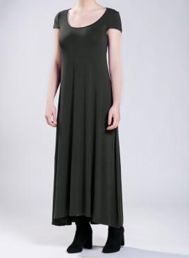 Φόρεμα Athlos cap sleeve ελαστικό