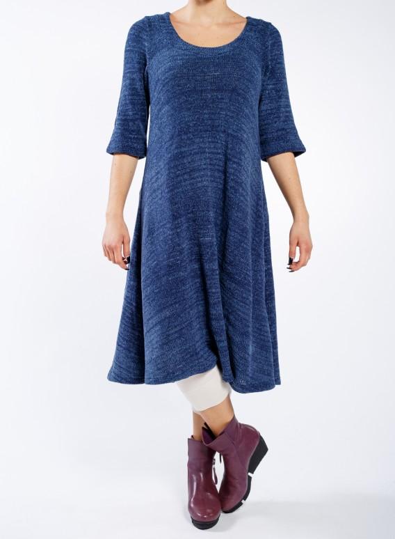 Φόρεμα Kristin midi chenille