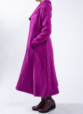 Coat thunder wide collar