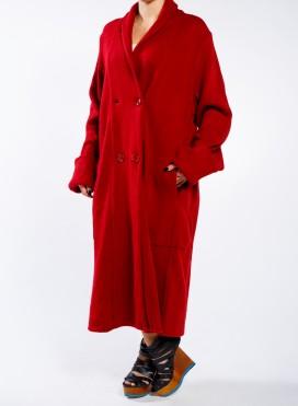 Coat fluffy
