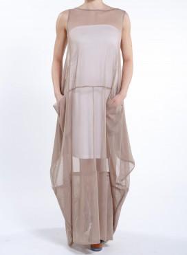 Φόρεμα Tulip Pockets Χωρίς Μανίκι Tulle