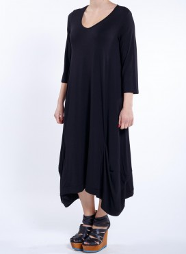 Dress Hello 3/4 sleeve elastic sized