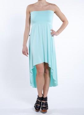 Φόρεμα Strapless/Eaten ελαστικό