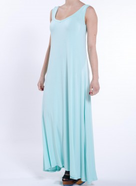 Dress Xenia sleeveless maxi elastic