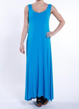 Φόρεμα Xenia χωρίς μανίκι maxi ελαστικό