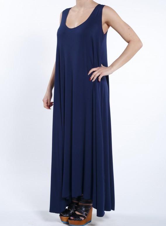Φόρεμα Μύτες Χωρίς Μανίκι Maxi