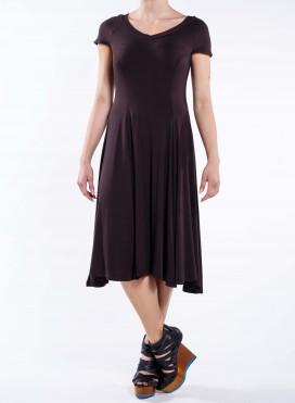 Φόρεμα Camellia midi ελαστικό