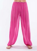Pants chiffon silk