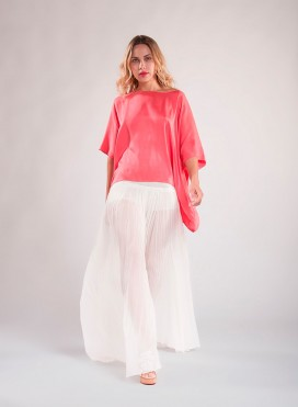 Pants Fardi Chiffon 100% Silk